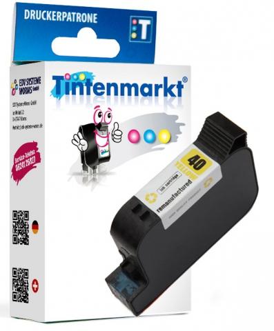 Tintenmarkt Druckerpatrone ersetzt HP40Y,