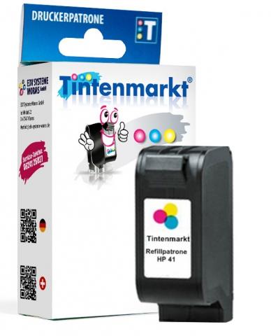 Tintenmarkt Druckerpatrone ersetzt HP41,