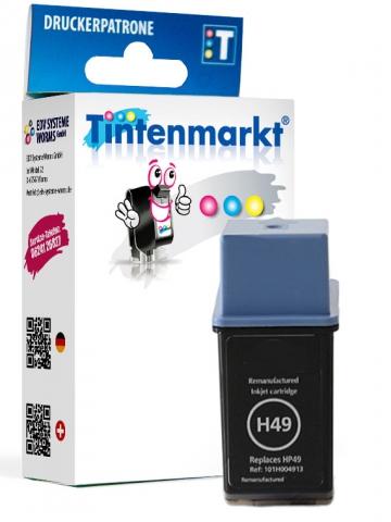 Tintenmarkt Druckerpatrone ersetzt HP49,