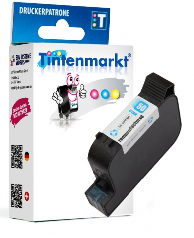 Tintenmarkt Druckerpatrone ersetzt HP50C,