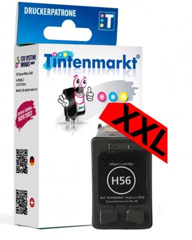 Tintenmarkt Druckerpatrone ersetzt HP56,