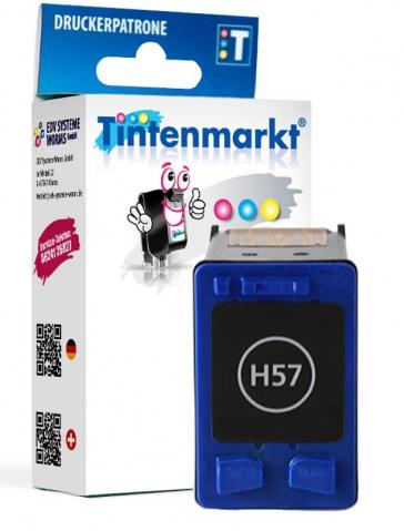 Tintenmarkt Druckerpatrone ersetzt HP57,