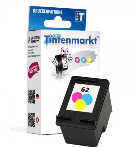 Tintenmarkt Druckerpatrone ersetzt HP62C,