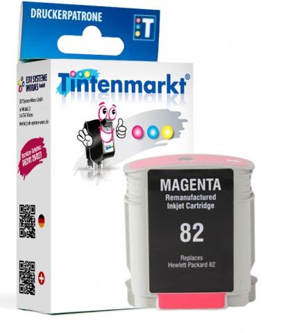 Tintenmarkt Druckerpatrone ersetzt HP82M,