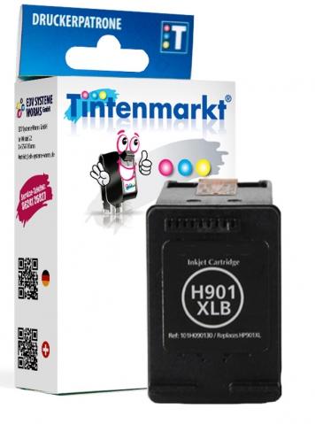 Tintenmarkt Druckerpatrone ersetzt HP901XLB,