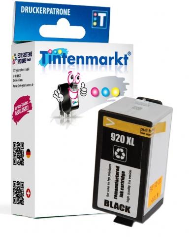 Tintenmarkt Druckerpatrone ersetzt HP920BK,