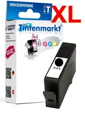 Tintenmarkt Druckerpatrone ersetzt HP934BK,