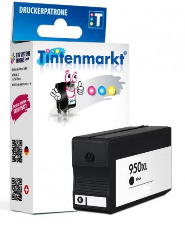 Tintenmarkt Druckerpatrone ersetzt HP950XLBK,