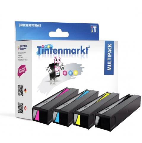 Tintenmarkt Druckerpatrone ersetzt HP970BK ,
