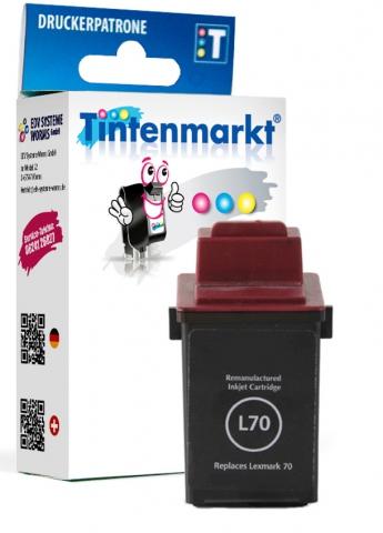 Tintenmarkt Druckerpatrone ersetzt Lexmark No.