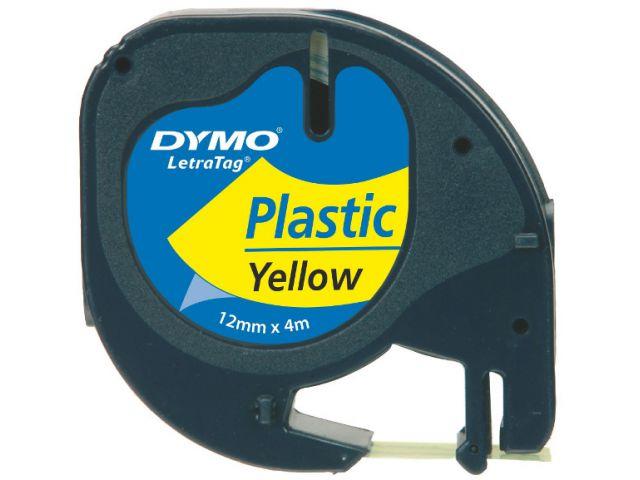 DYMO Plastik Schriftband 91222 GELB
