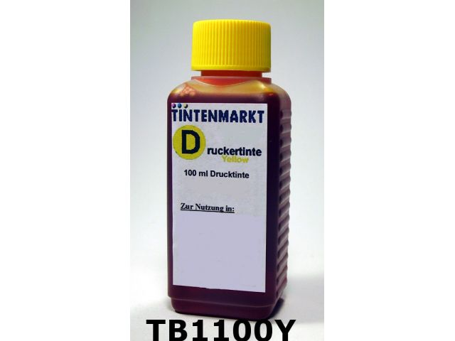 Druckertinte in Dye Based Qualit�t f�r Brother LC900 / LC970 / LC980 / LC985 / LC1000 / LC1100 /