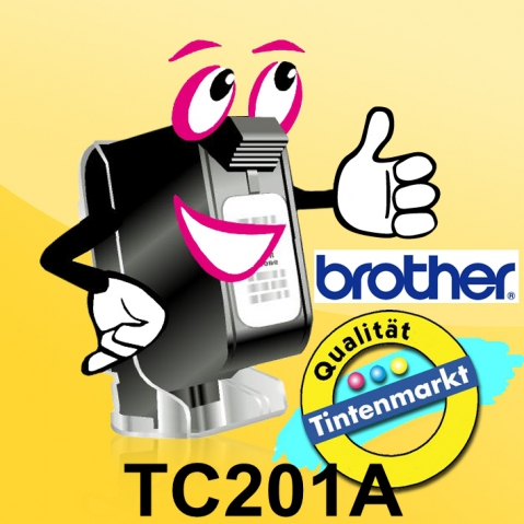 Brother TC201A BROTHER P-TOUCH 12mm