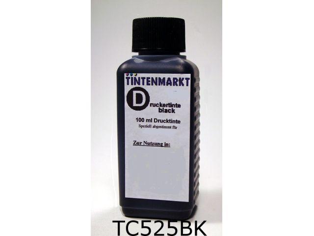 Druckertinte in pigmentiert Qualität für Canon PGI-525BK 100 ml schwarz