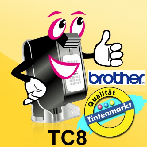 Brother TC8 BROTHER P-TOUCH BLADE Replacement