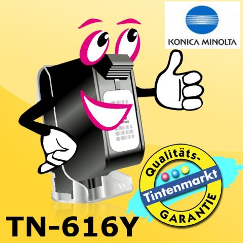 Konica Minolta TN-616Y Toner original f�r ca.