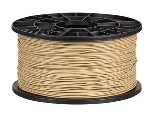 Holzfarbiges Filament für 3D Drucker MakerBot, RepRap, MakerGear und viele Andere, Stärke 1,75mm