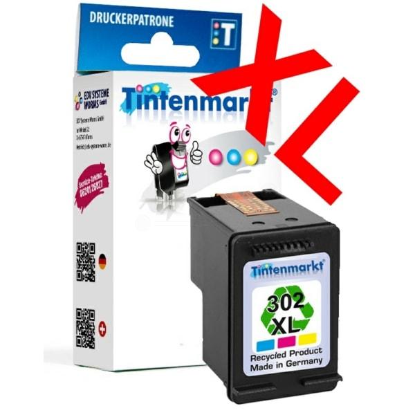 HP 302 recycelt vom Tintenmarkt