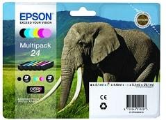 Druckerpatronen Epson 24 Multipack für Epson Expression Photo