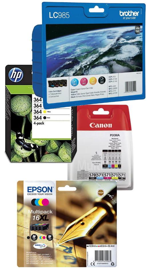 Druckerpatronen-Marken bei Tintenmarkt