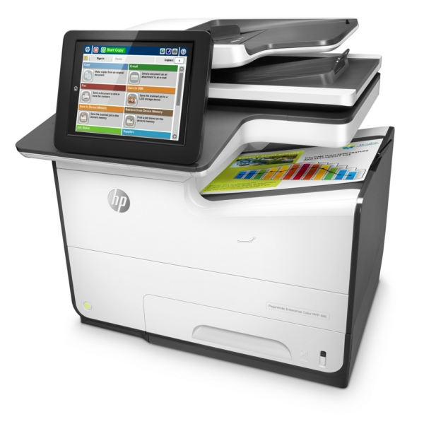 PageWide Enterprise Color Flow MFP 580 Series