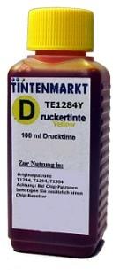 Druckertinte in yellow vom Tintenmarkt