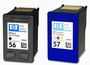 HP 56 und HP 57
