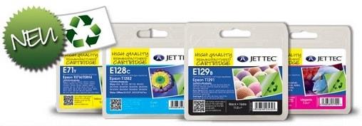 recycelte Epson Druckerpatronen von Jettec
