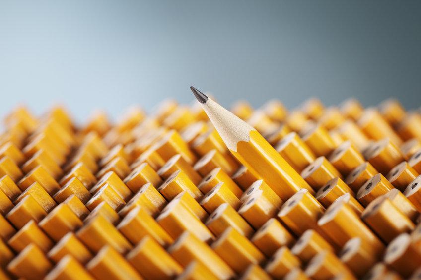 Härtegrade von Bleistiften