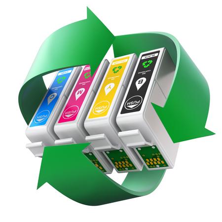 recycelte Druckerpatronen vom tintenmarkt