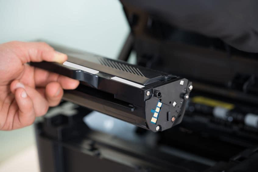 Toner im Laserdrucker