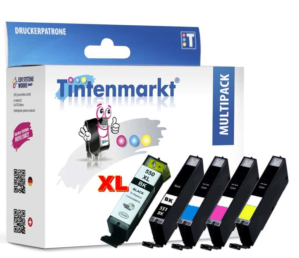 Multipack Druckerpatronen vom Tintenmarkt