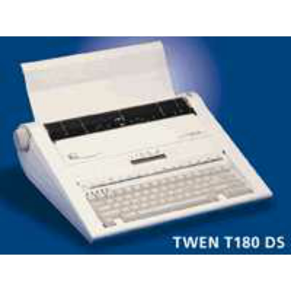 Original Farbband f/ür Triumph-Adler Twen T 180 DS Schreibmaschine