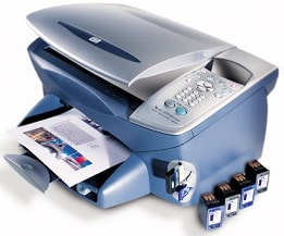 HP Tintenstrahldrucker der PSC Serie
